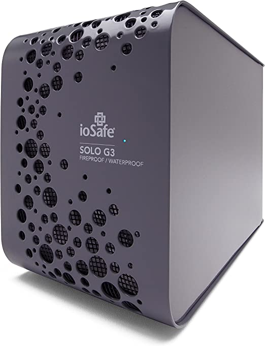3TB SOLO G3 耐火性、防水外付けハードドライブ ioSafe社【並行輸入】