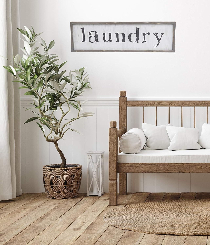 Sycamore Decor Laundry 10x32 Wall D/écor