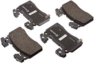 Rear Kit POWERSPORT BLACK *DRILL//SLOT* Brake Rotors CERAMIC PADS BR06036
