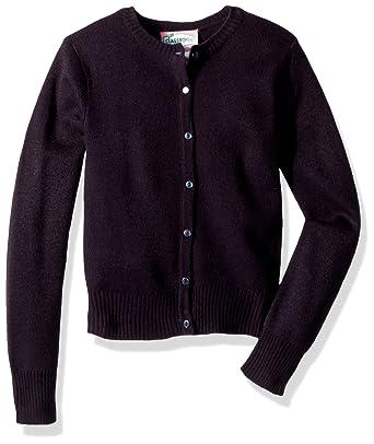 4ac1bc43dca1 Amazon.com  CLASSROOM Little Girls  Jewel Neck Cardigan  Clothing