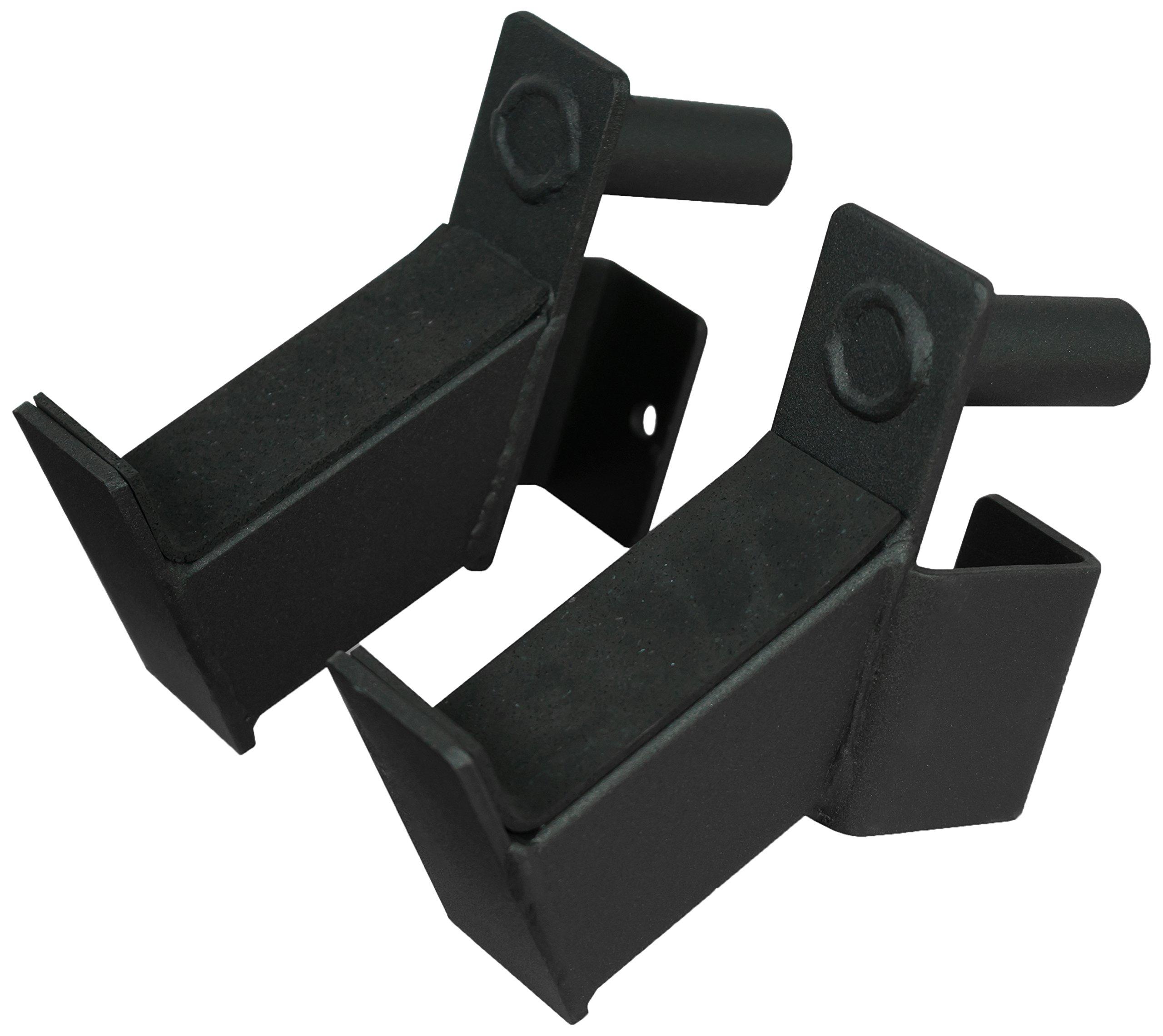 Valor Fitness MB-G Short Bar Holder Accessory Set for BD-11, BD-20 and BD-41 (fits 2.5'' tubing)