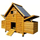 COCOON CHICKEN COOP HEN HOUSE POULTRY ARK NEST BOX NEW - MODEL 600 WITH SECURE NEST BOX FLOOR & CLEANING TRAY