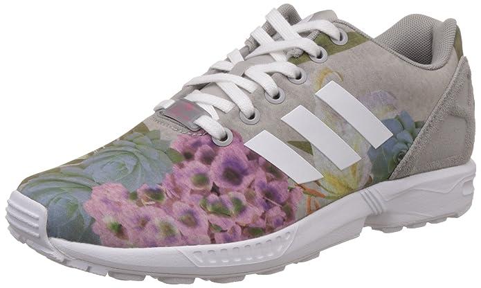 official photos 4f6ec e616c Amazon.com   adidas Women s ZX Flux W, Floral-Grey White, 6 US   Fashion  Sneakers