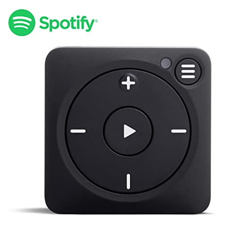 Mighty Vibe Spotify Music Player - Bluetooth & Wired Headphones - 8GB  Storage - No Phone Needed - Zazzy Black