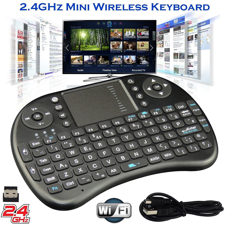 2 4G Mini Wireless KODI XBMC Keyboard Touchpad Mouse Combo - Multi-media  Portable Handheld Android Keyboard- for PC Google Android Smart TV Tivo Box