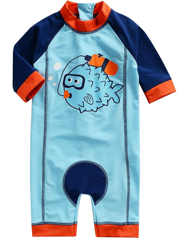 Vaenait Baby 0-24M Baby Boys Swimsuit Rashguard Swimwear Baby Diver