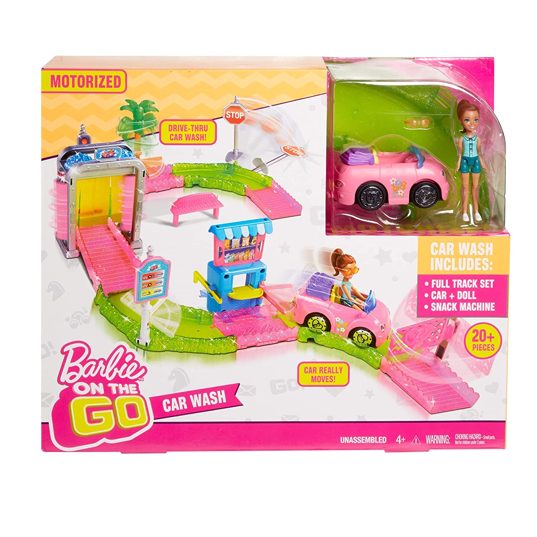 Barbie Car Wash Playset Mattel FHV91