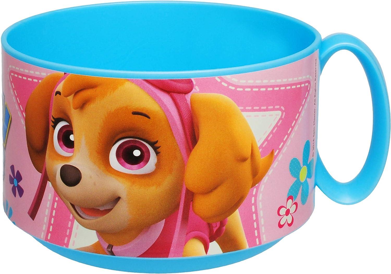 alles-meine.de GmbH Trinkbecher // Henkeltasse Kunststoff Plastik Name Paw Patrol Hunde inkl Skye /& Everest Mikrowellen geeignet BPA frei Trinklerntasse .. 250 ml