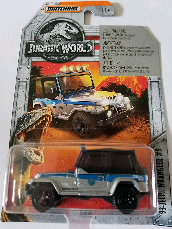 Matchbox Jurassic World 93 Jeep Wrangler #9