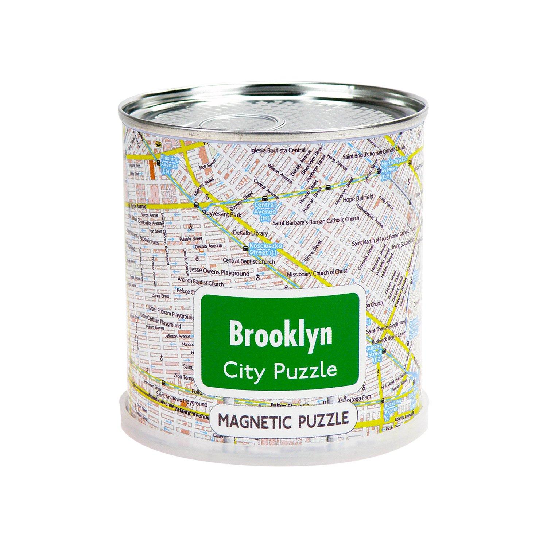 Brooklyn Can – B0793T11WR シティパズルマグネットでプレミアムTin Can – B0793T11WR, 鶴来町:89665a95 --- ero-shop-kupidon.ru