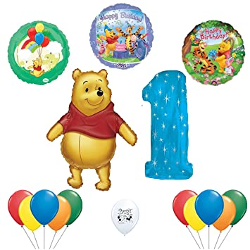 Amazoncom Winnie the Pooh 1st Birthday Balloon Decoration Kit