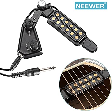 Neewer® Fácil 12 Agujero Agujero de Sonido de guitarra acústica ...