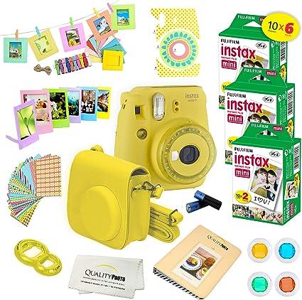 Fujifilm Instax Mini 9 Instant Camera w/Fujifilm Instax Mini 9 ...