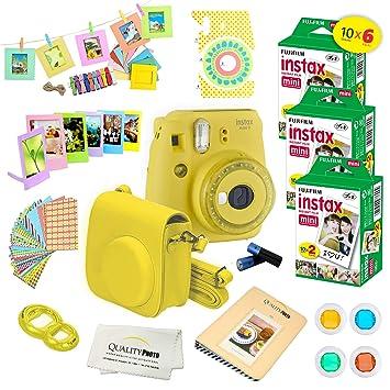 Amazon.com: Fujifilm Instax Mini 9 Deluxe Fujifilm Instax ...