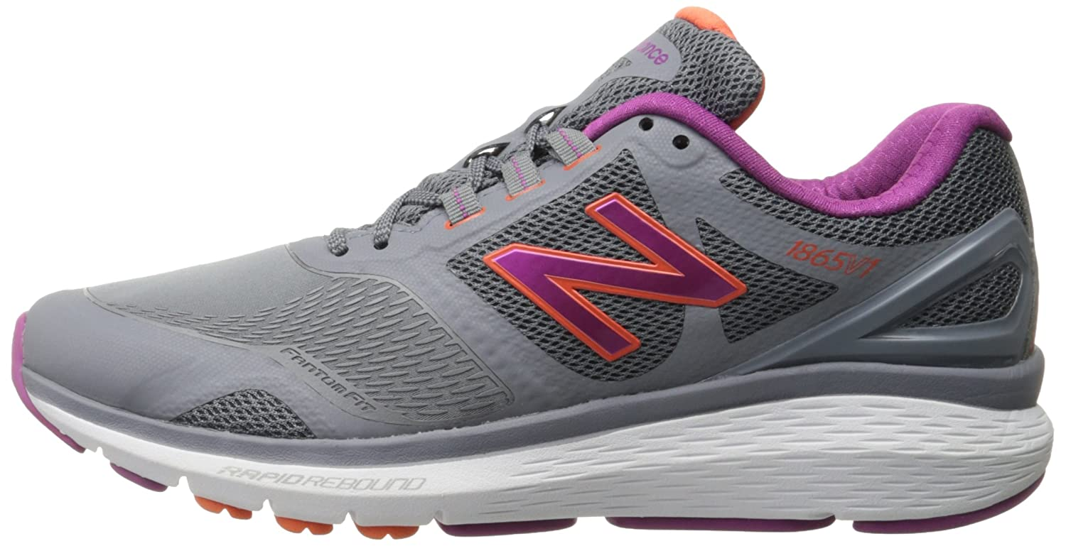 New Balance Women's 11 WW1865v1 Walking Shoe B019DLDD32 11 Women's D US|Grey 4c1115