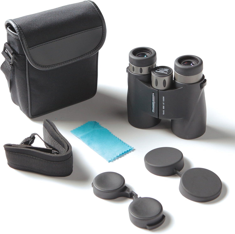 Zhumell ZHUA002-1 10x42 Short Barrel Waterproof Binoculars, Black