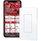 Eve Light Switch - Connected Wall Switch, easily upgrade to intelligent, automate your lighting with timers and rules, Blueto
