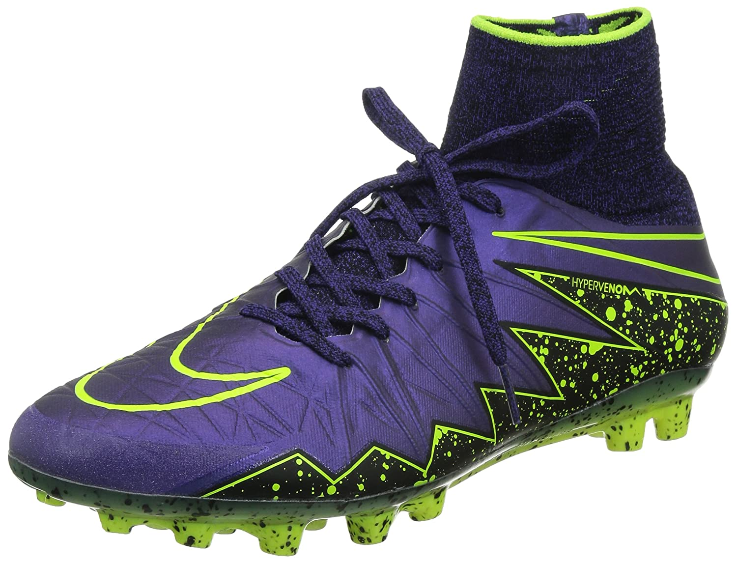 new concept c421a 0ce22 Amazon.com   Nike Hypervenom Phantom II Ag-R-Hyper Grape Black Hyper Grape    Soccer