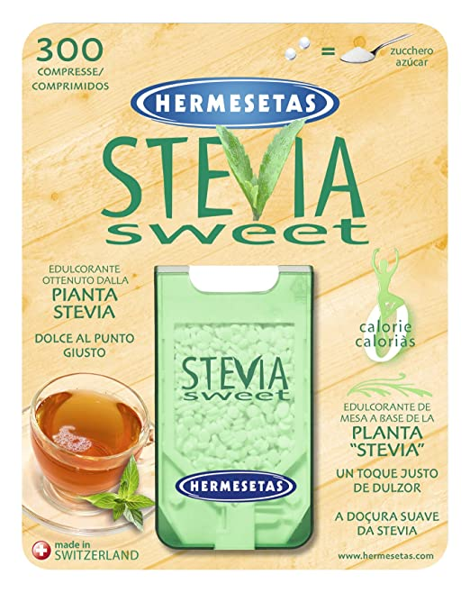 Amazon.com: Hermesetas Stevia Sweet - Pack Of 300 Tablets: Health & Personal Care