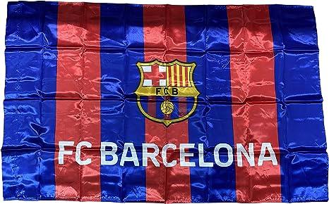 Bandera F.C. Barcelona (150 x 100 cm.): Amazon.es: Deportes y ...