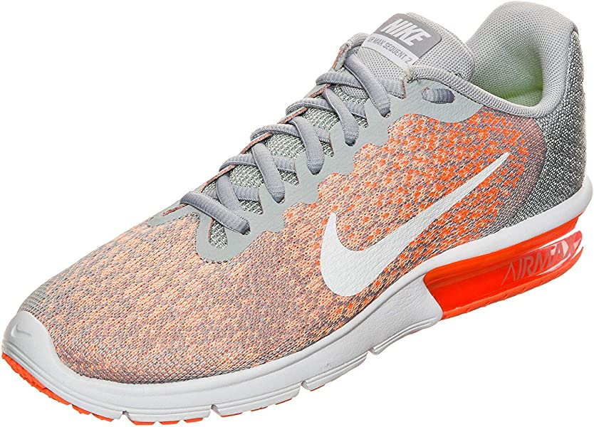 e5a5caac6a Nike Air Max Sequent 2 Wolf Grey/White/Bright Mango/Sunset Glow Women