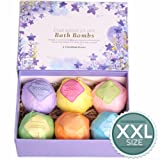 Amazon Price History for:LuxSpa Bath Bombs Gift Set - The Best Ultra Lush Natural Bubble Fizzies With Dead Sea Salt Cocoa And Shea Essential Oils , 6 x 4.1 oz, The Best Birthday Gift idea For Her/Him, wife, girlfriend, women