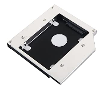 DeYoung SATA 2 nd HDD SSD disco duro Caddy para Lenovo IdeaPad ...