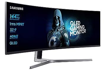 """61ca59626dd Samsung LC49HG90DMUXEN - Monitor curvo Gaming de 49"""", 32:9 , 1 ms"""