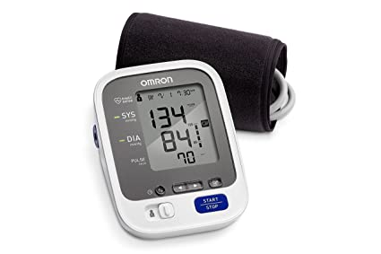 Omron 7 Series Wireless Upper Arm Blood Pressure Monitor with Cuff that fits Standard and Large