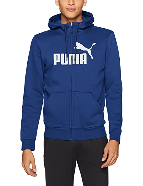 PUMA Men s Essential No.1 Fleece Full Zip Hoodie cf8c37c79be