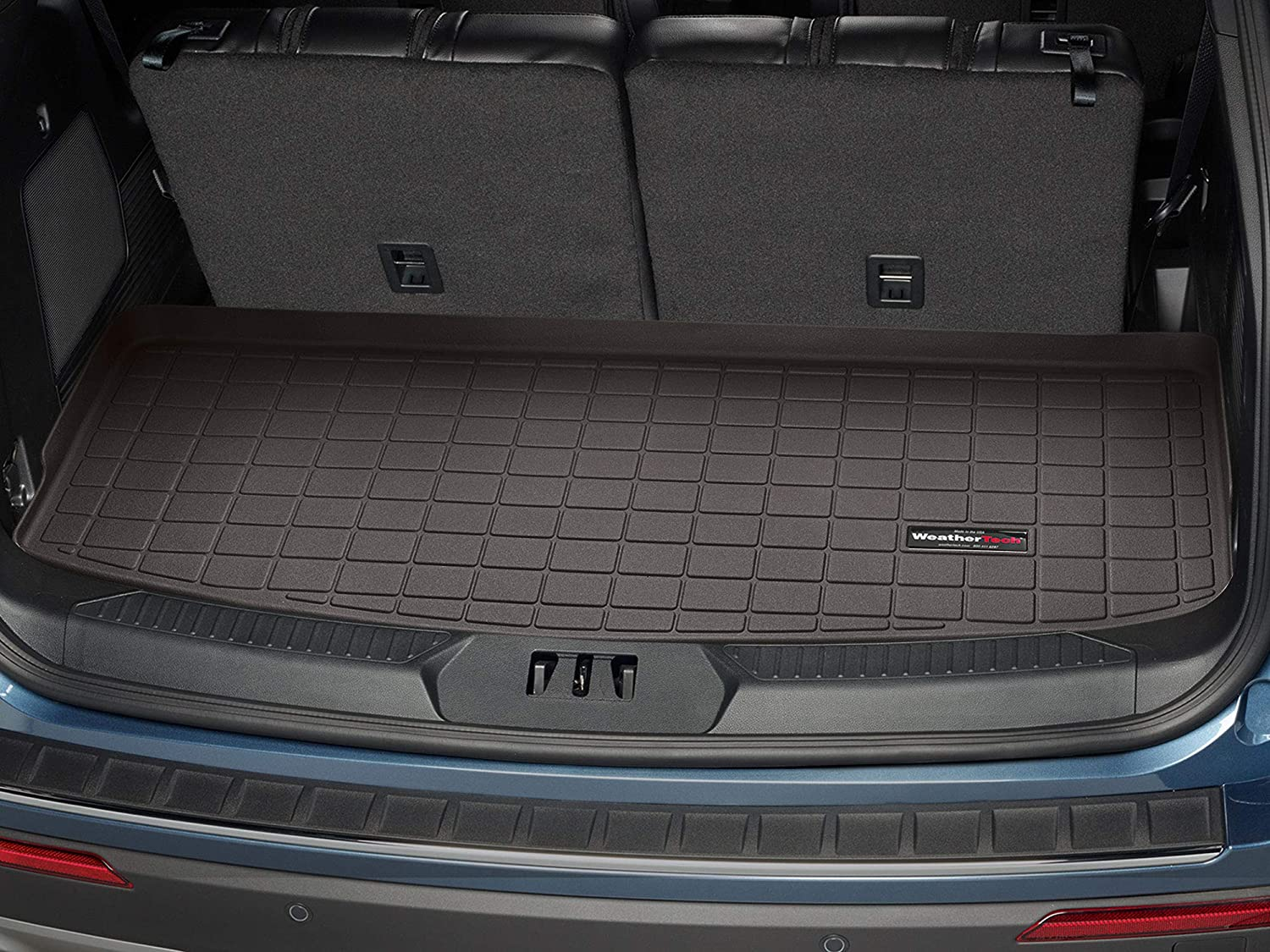 Tan WeatherTech Custom Fit Cargo Liners for Ford Expedition ...