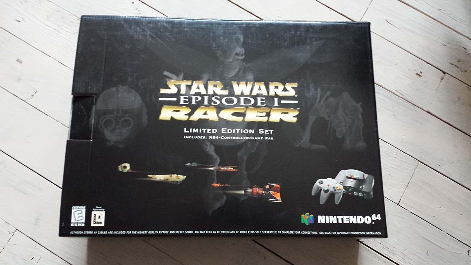 amazon com nintendo 64 system video game console star wars