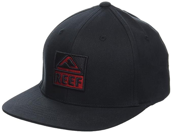 Reef_Apparel Reef Classic Block I Gorra de béisbol, Negro (Black ...