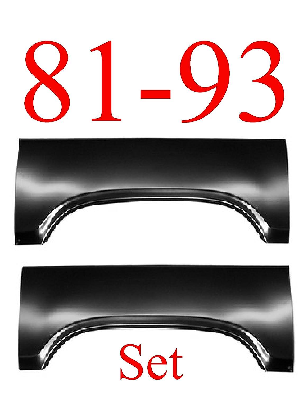 81-93 Dodge Ram Upper Arch Panel SET