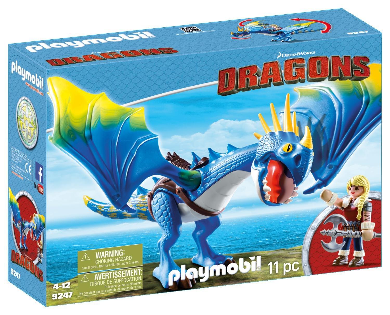 Cómo entrenar a tu Dragón Playmobil - Astrid y Tormenta (9247)