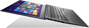 "Lenovo Thinkpad X1 Carbon 20A70037US Touch 14-Inch Touchscreen Ultrabook - Core i7-4600U, 14"" MultiTouch WQHD Display (2560x1440), 8GB RAM, 256GB SSD, Windows 8.1 Professional"