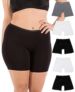 8c22282e13f B2BODY Women's Regular & Plus Size Stretch Cotton Long Leg 6.5
