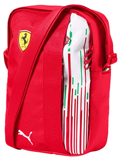cd33695f8b2e Image Unavailable. Image not available for. Color  Ferrari Scuderia F1  Racing Team Puma Shoulder Bag Red ...