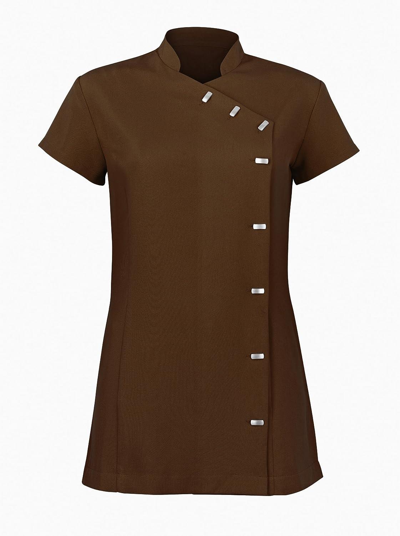 Alexandra Womens Easycare Wrap Beauty Tunic//Health Beauty /& Spa//Workwear