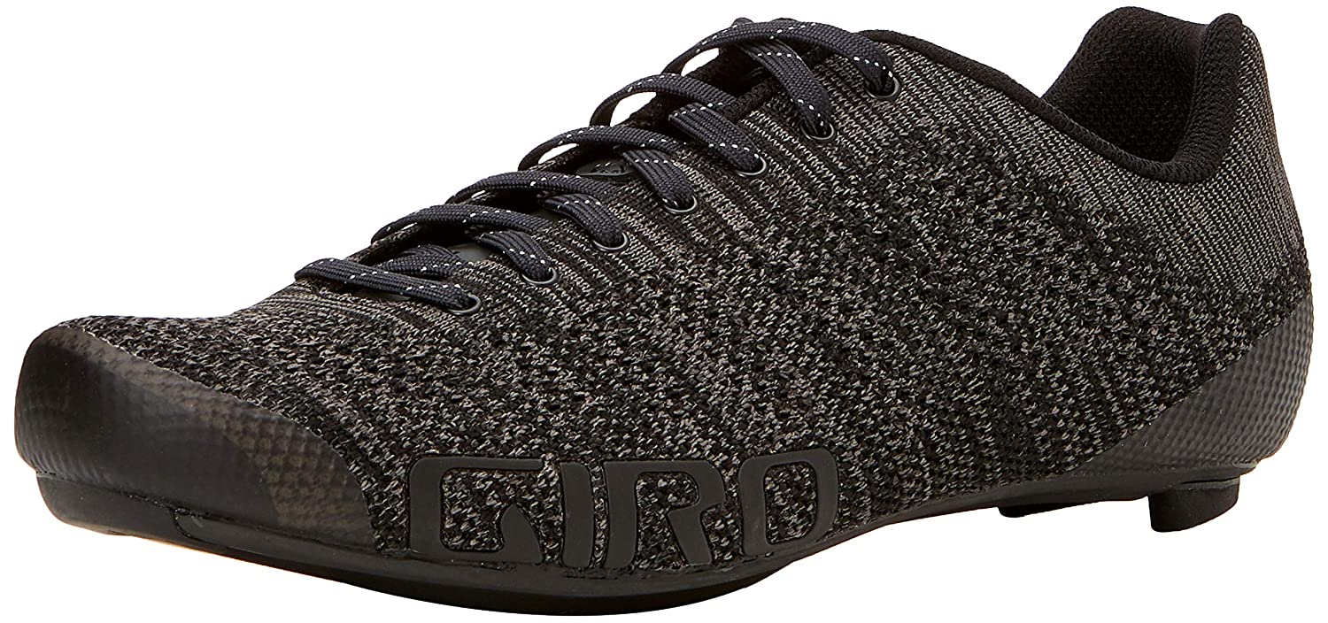 Giro Empire e70ニットサイクリング靴 – Men 's B075RR6QJR 42 M EU|Black/Charcoal Heather Black/Charcoal Heather 42 M EU