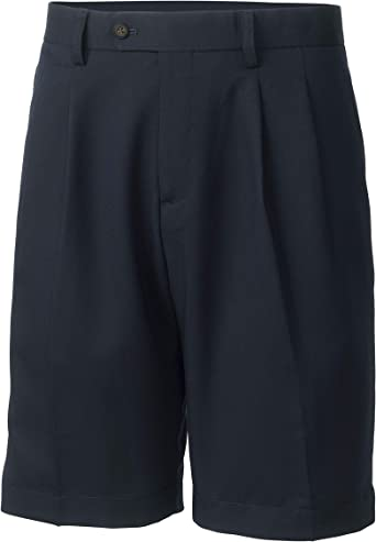 Cutter Buck Men S Big And Tall Twill Microfiber Pleated Short Navy Blue 46 Tall At Amazon Men S Clothing Store Golf Shorts,White Bathroom With Subway Tile