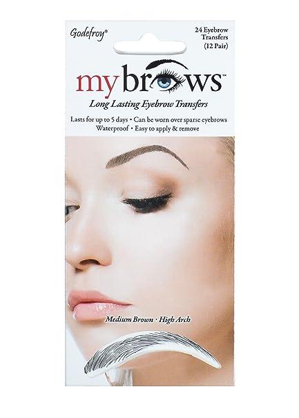 Amazon.com: Godefroy Mybrows High Arch Eyebrow Tattoo, Medium ...