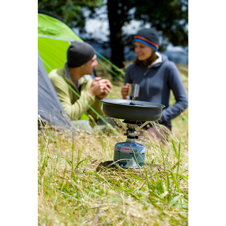 Coleman F1 Power PZ - Hornillo portátil para acampada, color gris: Amazon.es: Deportes y aire libre