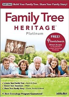 family tree heritage platinum 15 - windows
