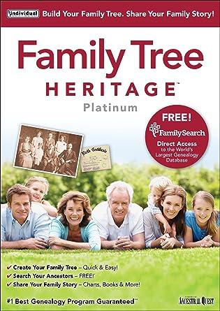 amazon com family tree heritage platinum 9 download software