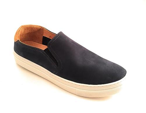 DARKWOOD Mocasines de Piel Para Hombre Turquesa: Amazon.es: Zapatos y complementos