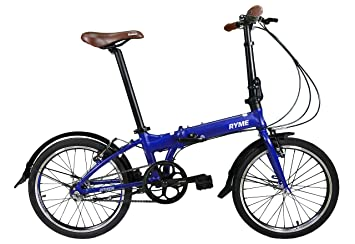 RYMEBIKES Bicicleta Plegable 20´´ Citizen Blue