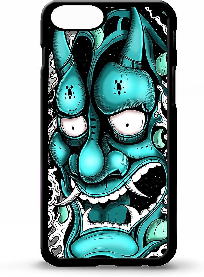 Para iphone 5/5S Oni máscara hannya demon japonés tatuaje samurai ...