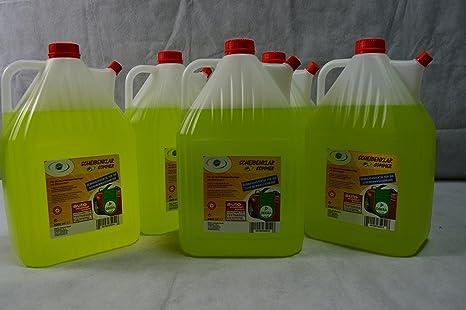 5 x 5 l Bidón limpiacristales Verano Con Aroma Limón transparente limpiador para – Placa waschanlage