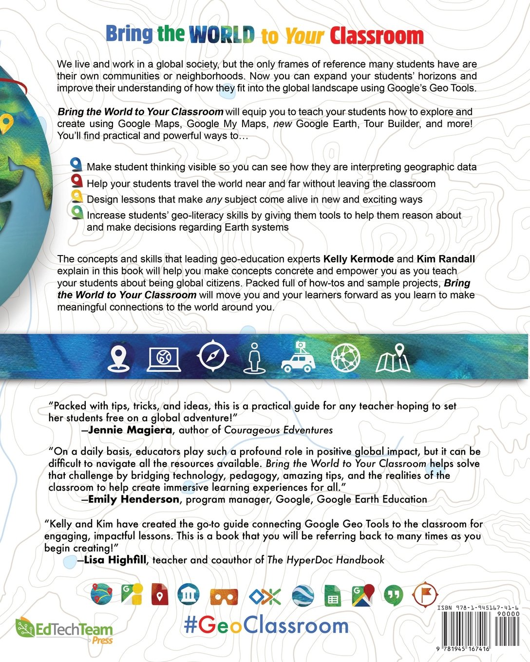 Amazon bring the world to your classroom using google geo amazon bring the world to your classroom using google geo tools 9781945167416 kelly kermode kim randall books sciox Images
